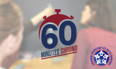60_Minutes_Chrono_Team_Building_Team_Building label