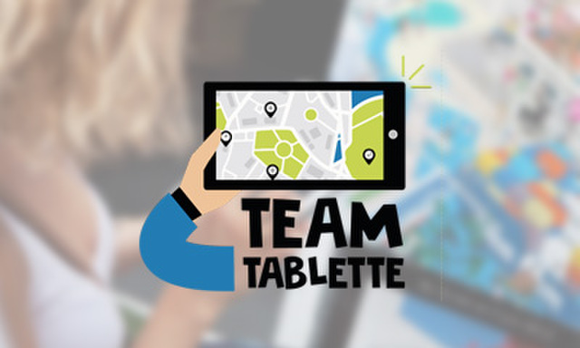 Rallye Team Tablette Tactile Team Building