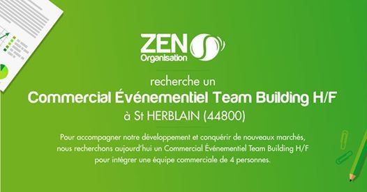 Recrutement commercial Team Building