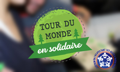 Tour Du Monde En Solidaire - Team Building développement durable et RSE label